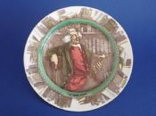 Royal Doulton Professionals Series 'The Bookworm' Rack Plate D3089 c1918  (Sold)